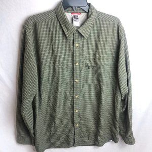 The North Face Plaid Button Outdoors Shirt L/S